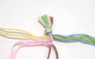 Wave and Loop Friendship Bracelet Image 3