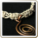 Groovy Hemp Necklace Instructions